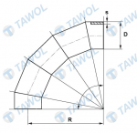 Tawol products - sectional elbows