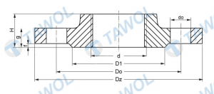 Tawol products - flanges